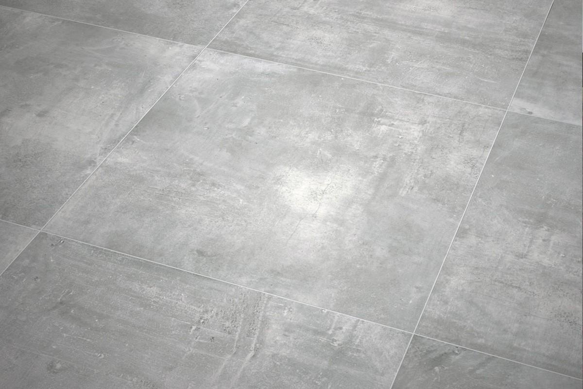 Gres porcellanato effetto moderno nice grigio 60x60 for Pavimenti grigi