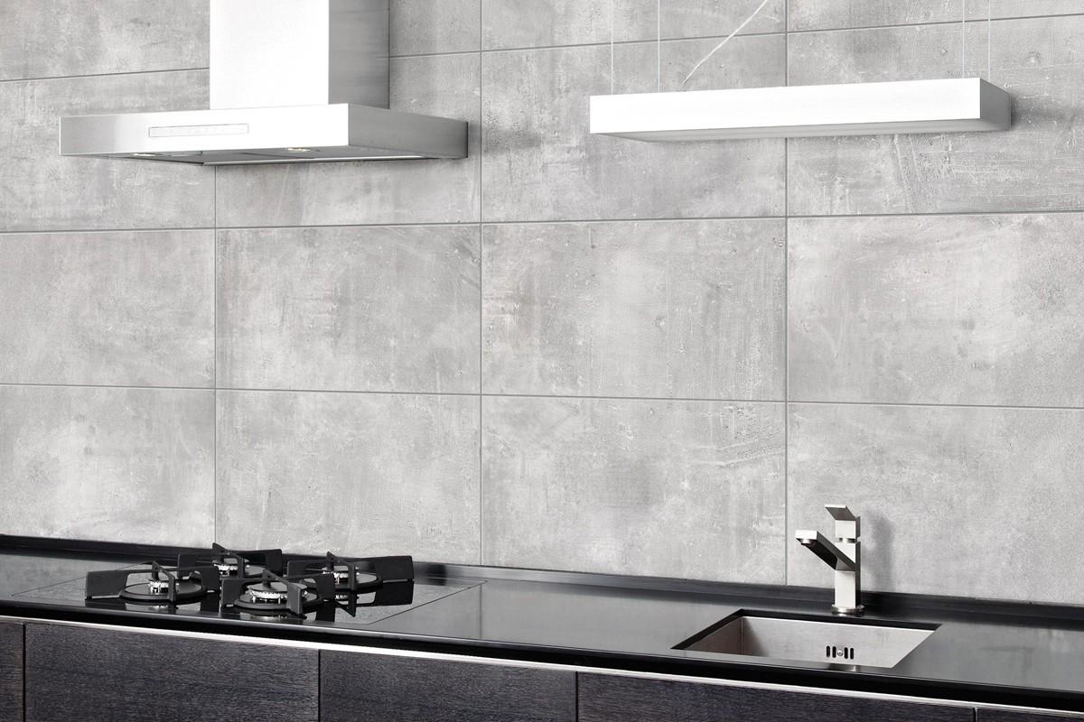 Gres porcellanato effetto moderno nice grigio 45x45 - Gres porcellanato bagno moderno ...