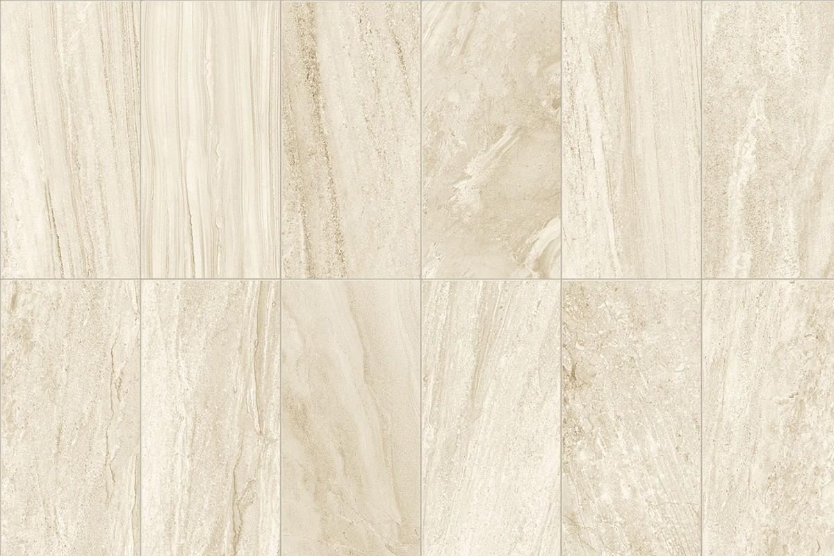 Gres porcellanato effetto pietra morbida avorio 15x60 for Gres porcellanato carrelage