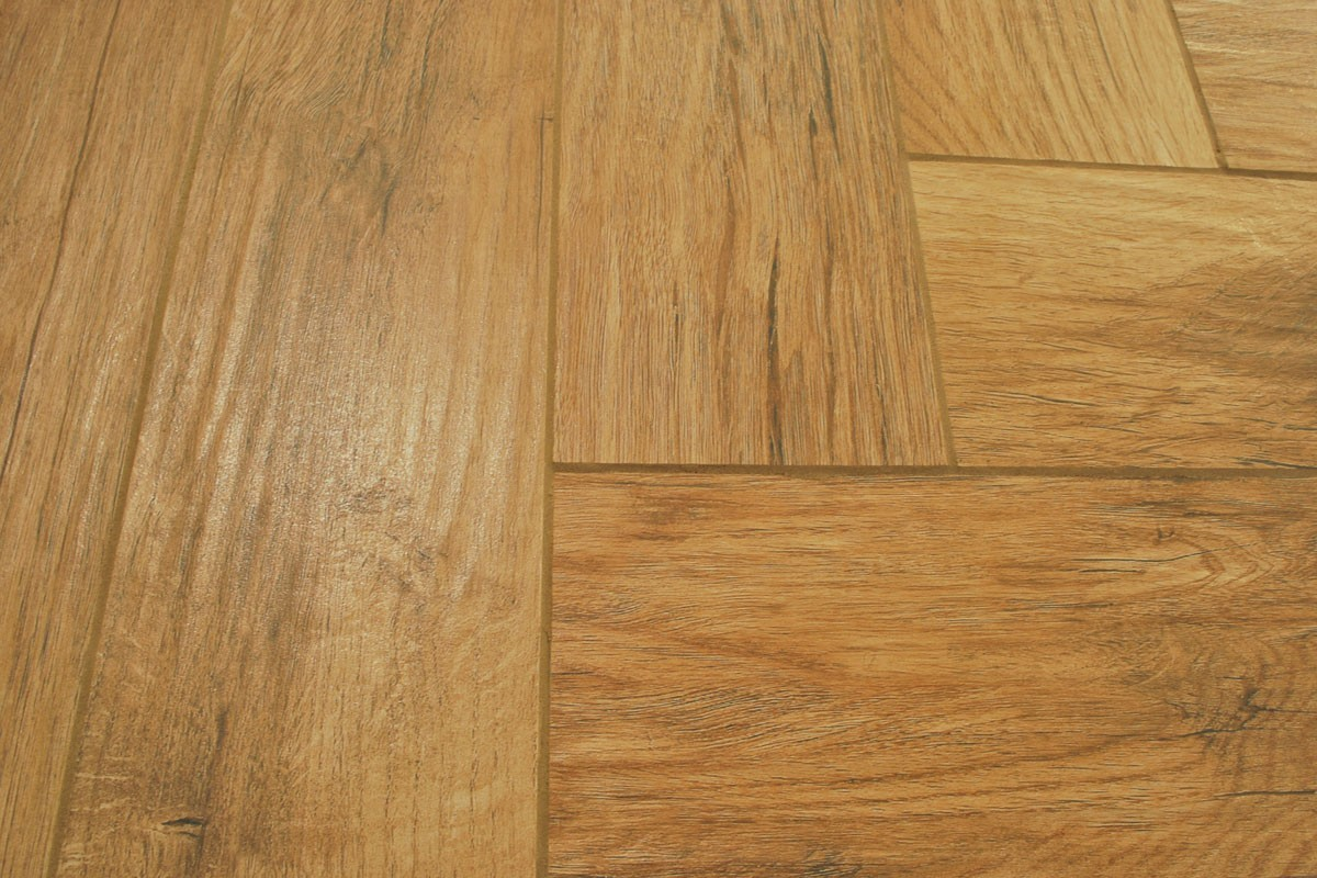 Floor tiles wood effect