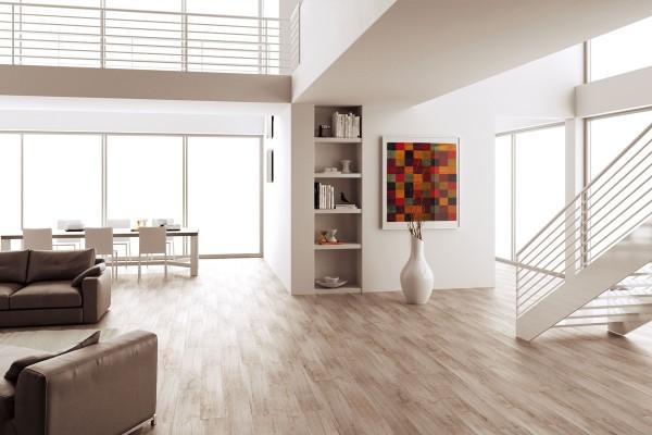 Gres porcellanato effetto legno sostenibile cenere 15x90 for Gres porcellanato carrelage