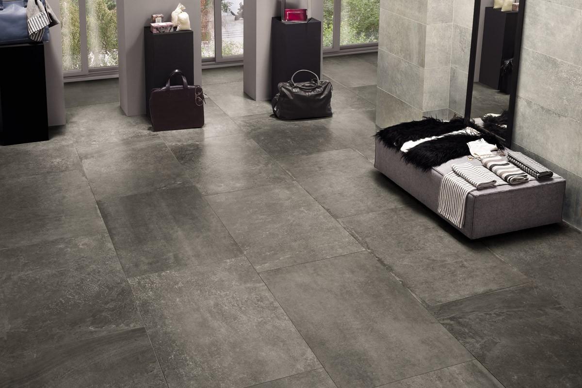 Gres effetto pietra antracite arc 5002 60x90 for Piastrelle 60x60 antracite