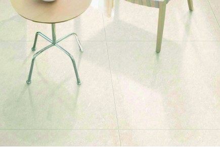 Marble effect tiles - Ivory