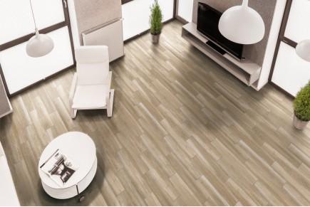 Wood effect floor tiles - Larch