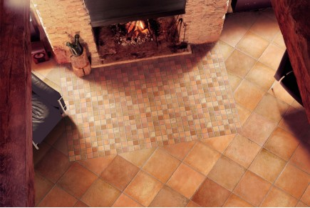 Rustical effect tiles - Cotto