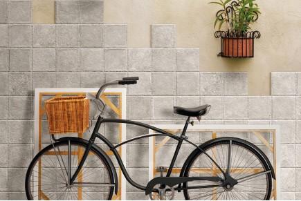 Rustical effect tiles - Garden