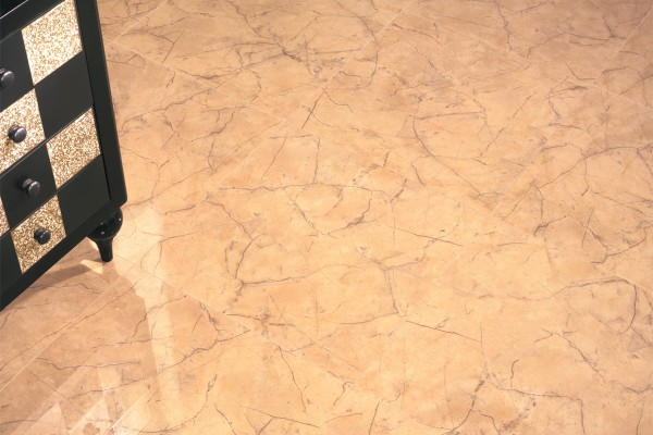 Gr s c rame effet marbre or pa 1212 59x59 luc for Carrelage hexagonal gres cerame