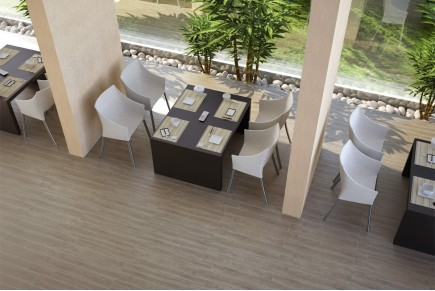 Wood effect porcelain stoneware - Cypres