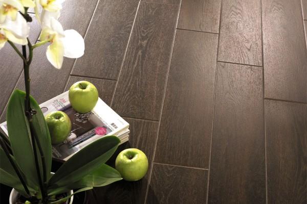 Wenge floor tiles