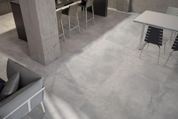 Carrelage int rieur contemporain new concrete 60x60 for Carrelage interieur 60x60