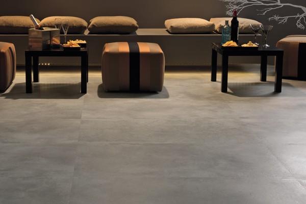 Carrelage int rieur contemporain new concrete 60x120 for Carrelage interieur contemporain