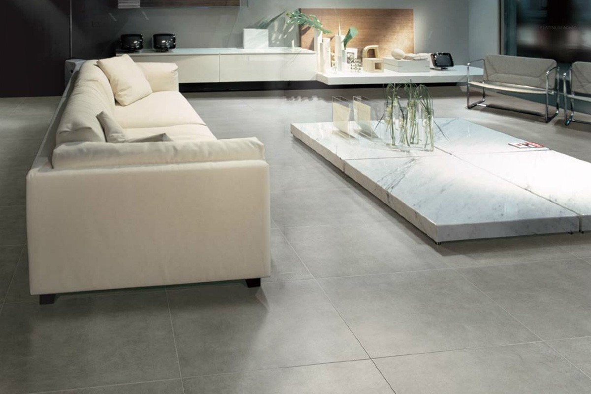 carrelage int rieur contemporain jetset platinum 60x60 ceramiche. Black Bedroom Furniture Sets. Home Design Ideas