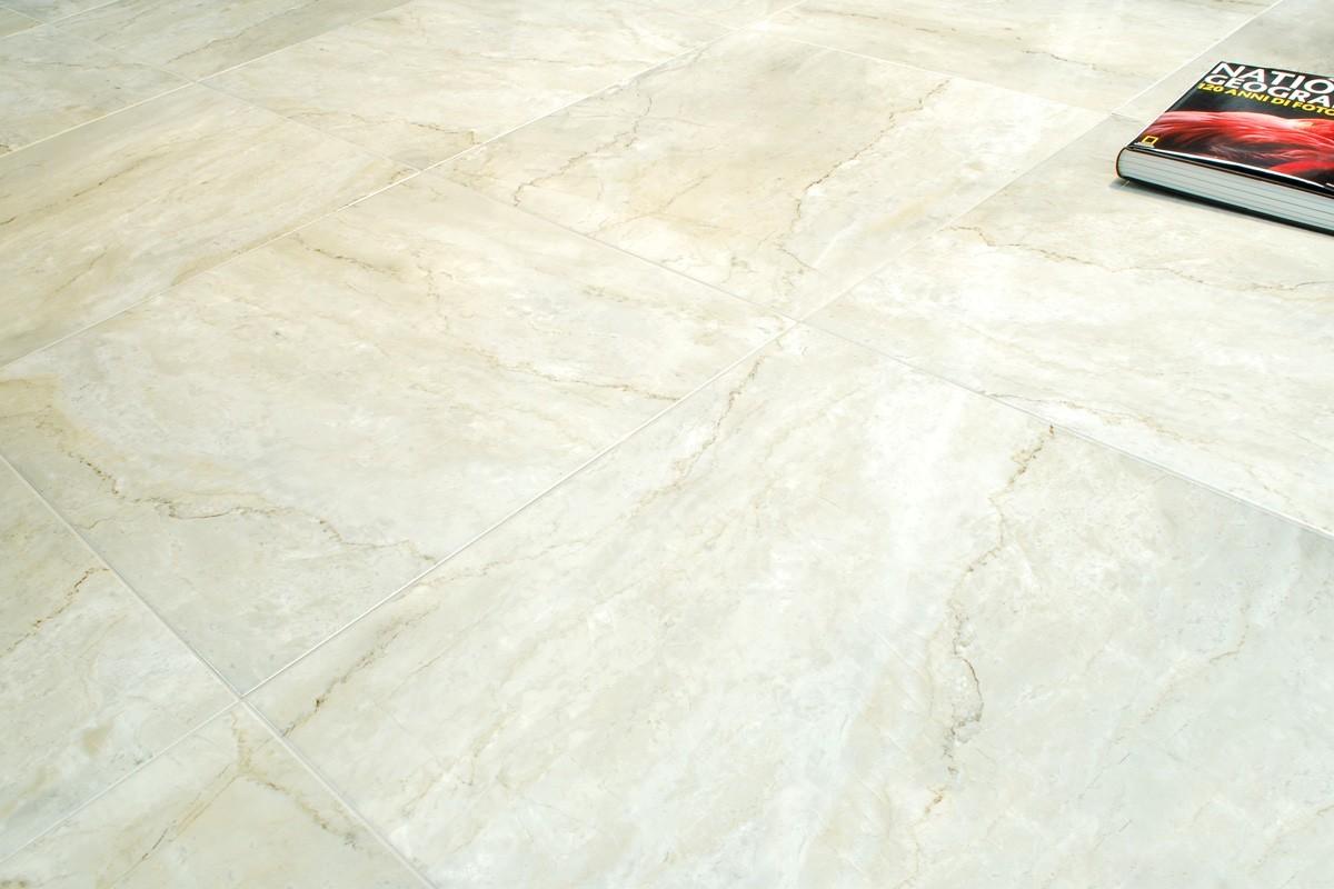 Gres porcellanato effetto marmo sparta 60x60 ceramiche fenice - Piastrelle in gres ...