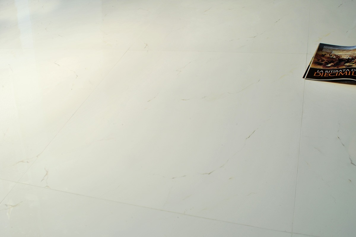 Carrelage imitation marbre white marble 80x80 ceramiche for Carrelage imitation marbre