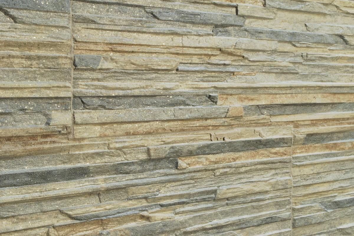 Gres porcellanato effetto pietra piana muschio 16x42 - Gres effetto pietra ...