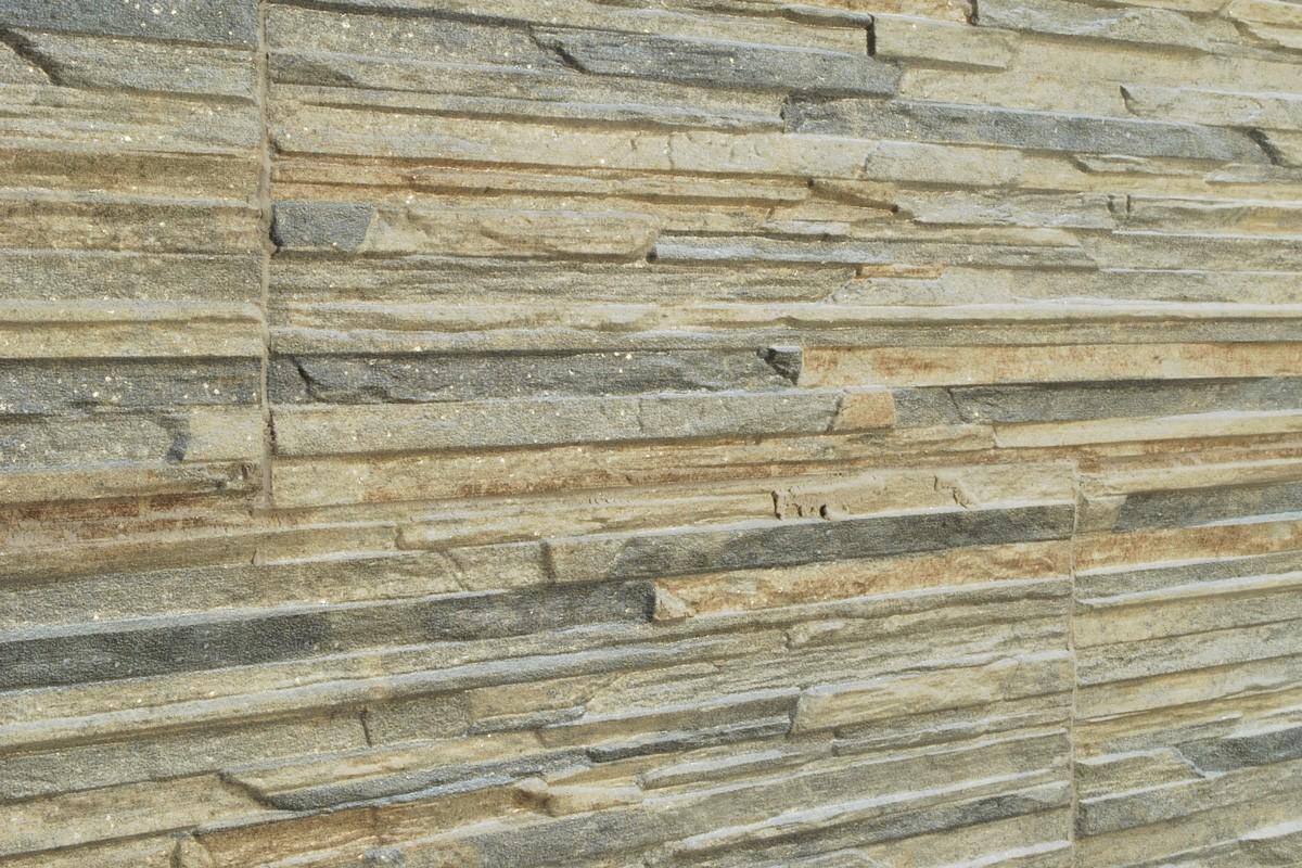 Gres porcellanato effetto pietra Piana Muschio 16x42 ...