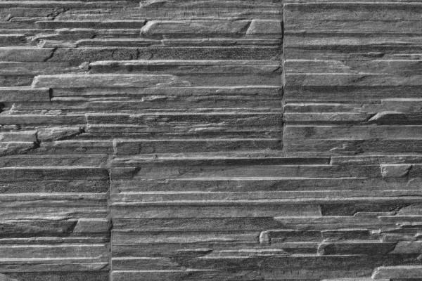 Gres porcellanato effetto pietra piana grafite 16x42 for Briquette salle de bain