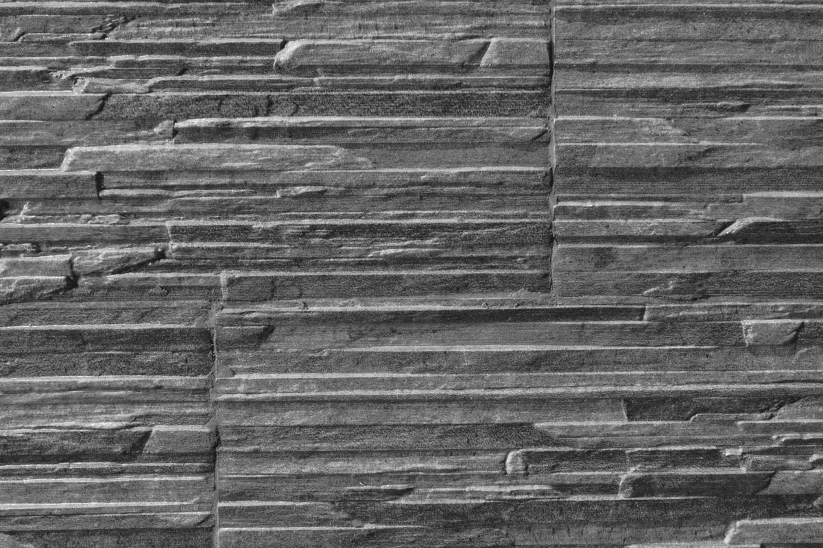 Gres porcellanato effetto pietra piana grafite 16x42 - Gres effetto pietra ...