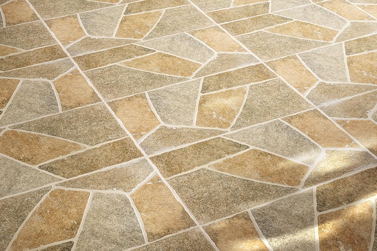 Carrelage terrasse maxima beige 30 2x60 4 ceramiche for Carrelage hexagonal gres cerame