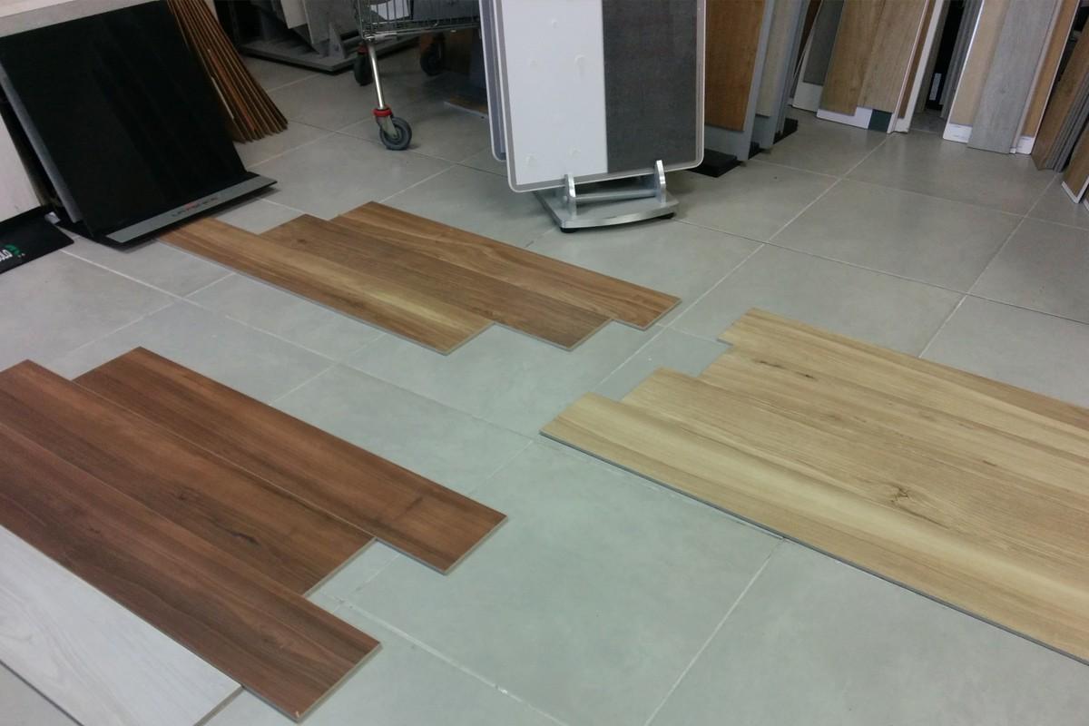 Wood effect floor tiles noce on sale 20x120 for Gres porcellanato carrelage