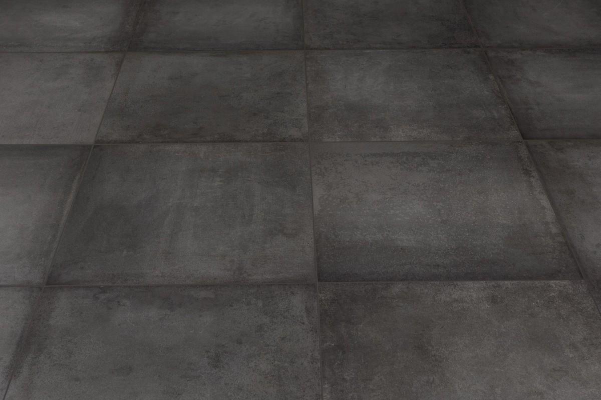 Gres porcellanato effetto moderno antonium antracite 60x60 - Piastrelle gres porcellanato effetto pietra ...