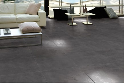 Carrelage int rieur contemporain lunare grigio 60x60 for Carrelage 120x120