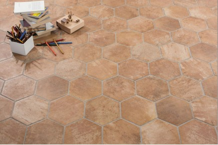 Gres porcellanato effetto moderno new concrete 60x60 for Carrelage hexagonal gres cerame
