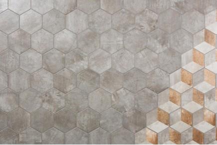 Rustic tiles Manoir Grigio decorum