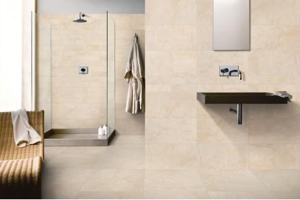 Gres porcellanato effetto marmo botticino beige 30x60 ceramiche crz64