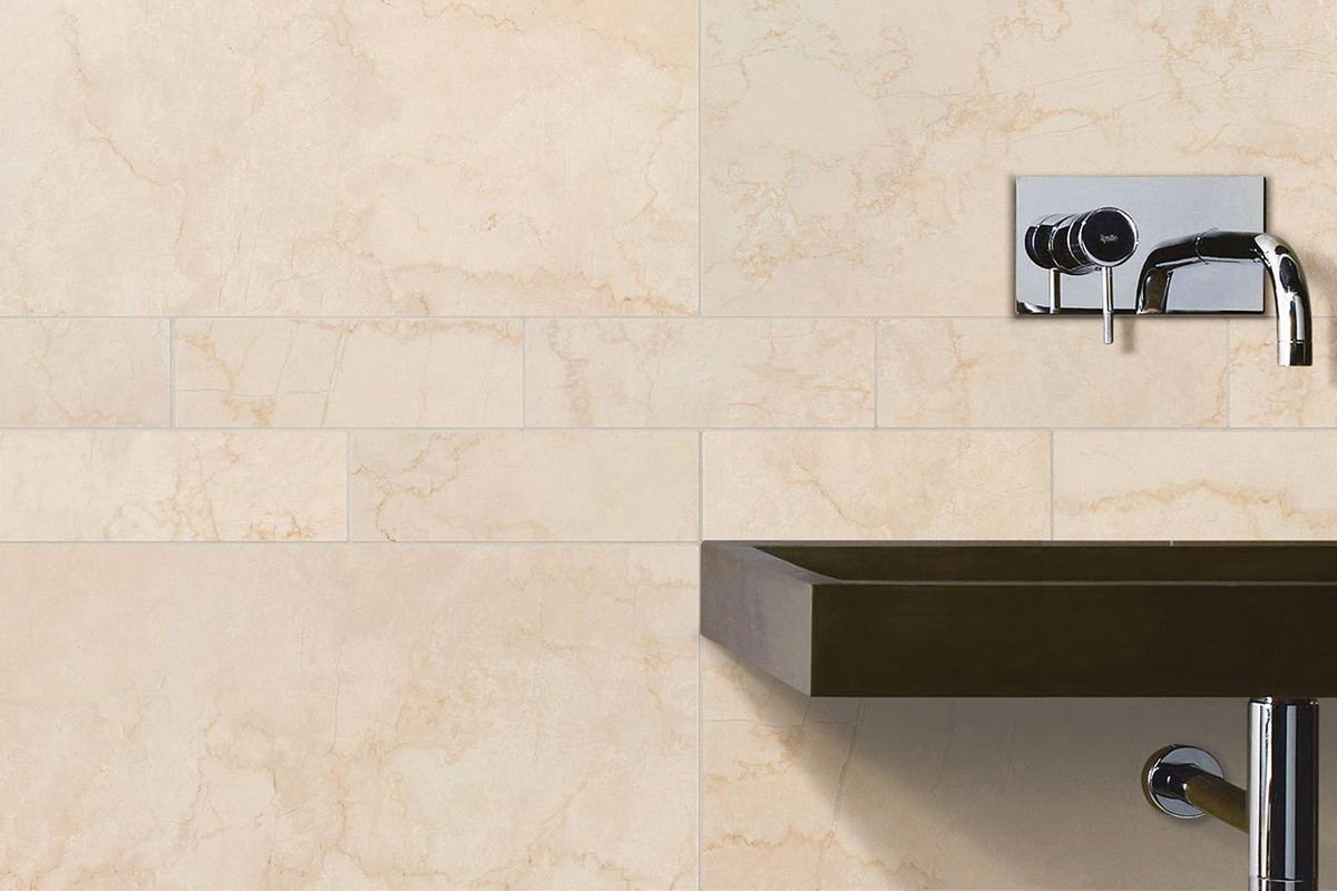Tiles - Carrelage imitation marbre gris ...