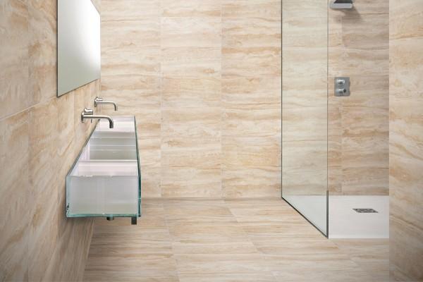 Piastrelle bagno simil marmo: piastrelle rivestimento bagno effetto
