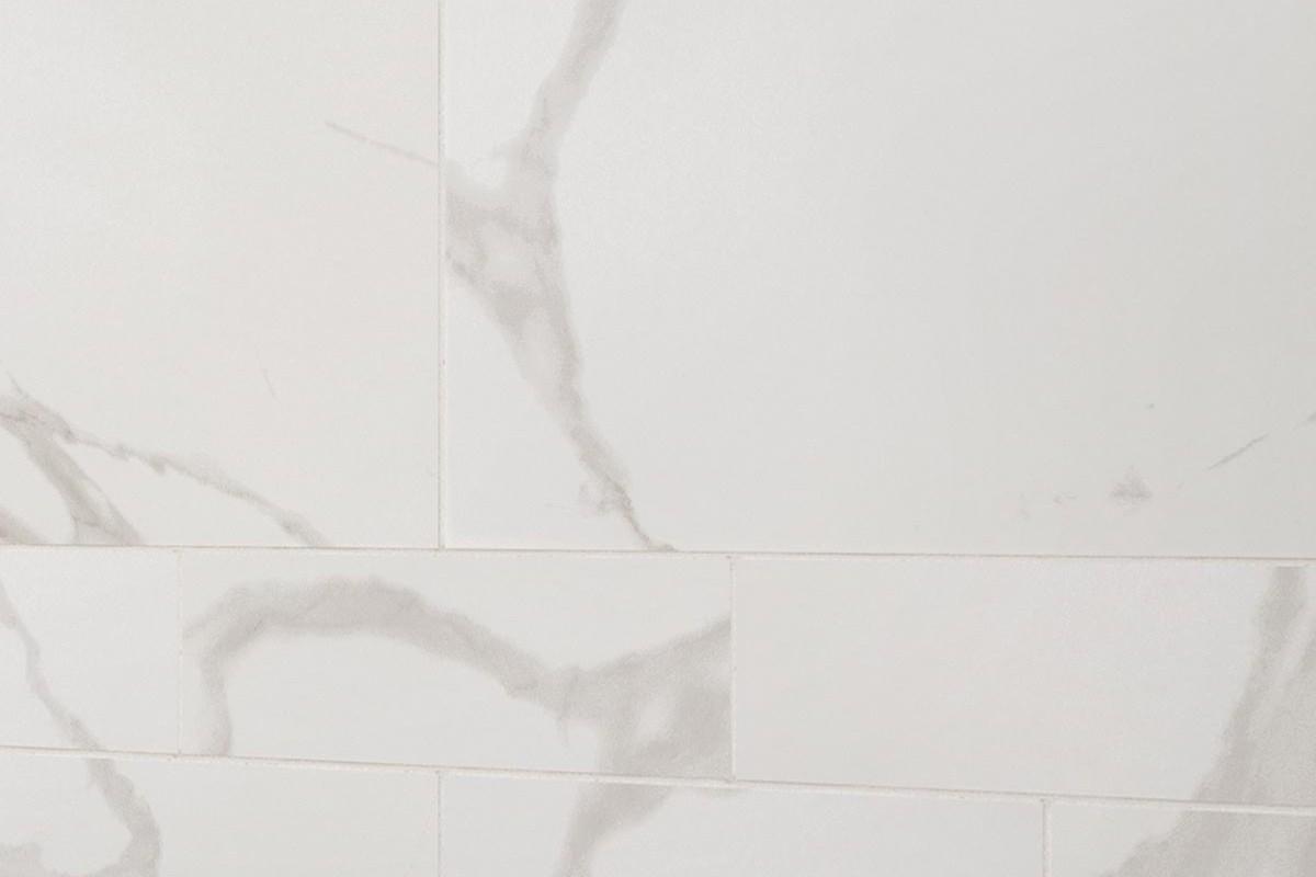 Gres porcellanato effetto marmo statuario bianco 60x60 - Piastrelle gres porcellanato effetto marmo ...