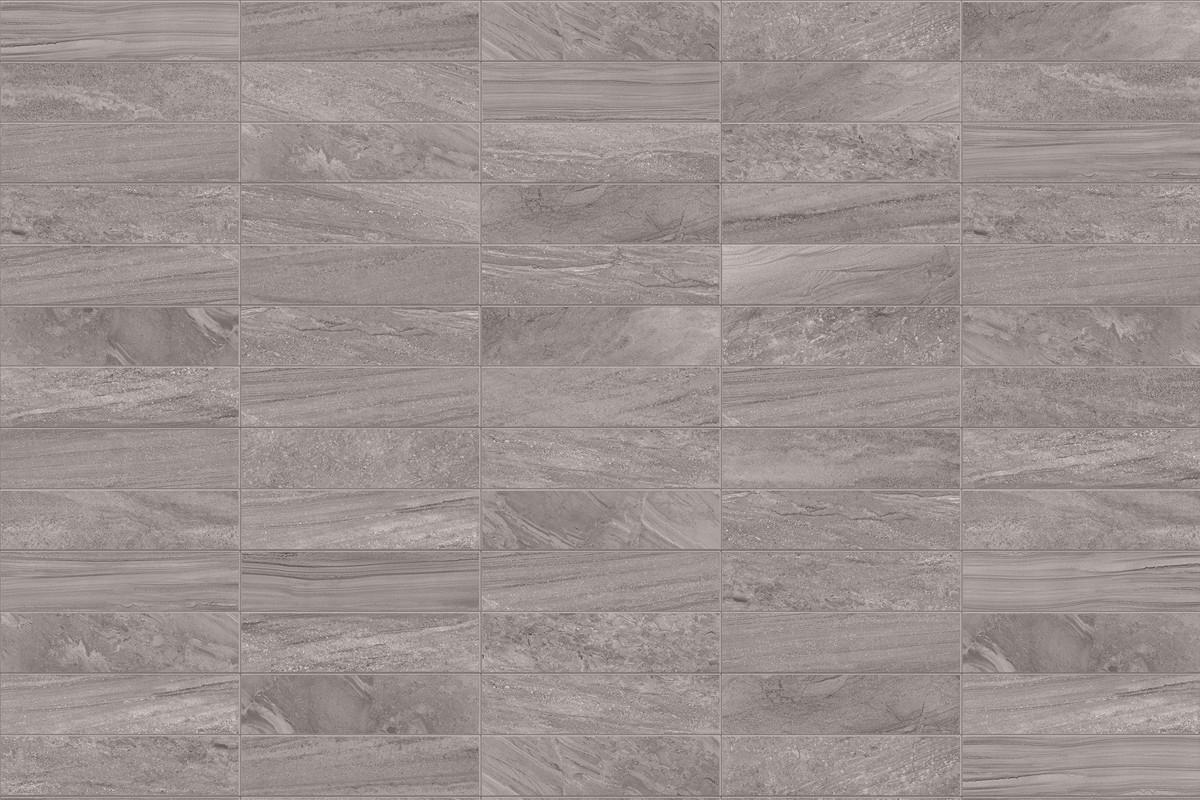 Gres porcellanato effetto pietra Morbida Grigio 30x60 Ceramiche CRZ64