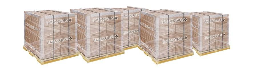 Palletized stock tiles