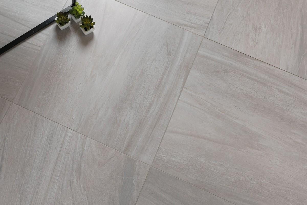 Gres porcellanato effetto marmo sensibile grigio 60x60 for Gres porcellanato grigio