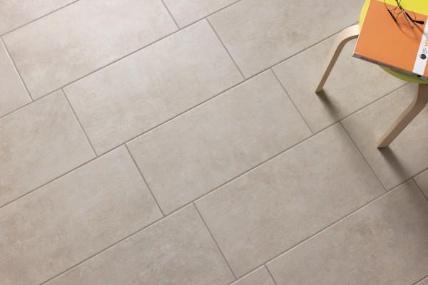 Concrete effect floor sand