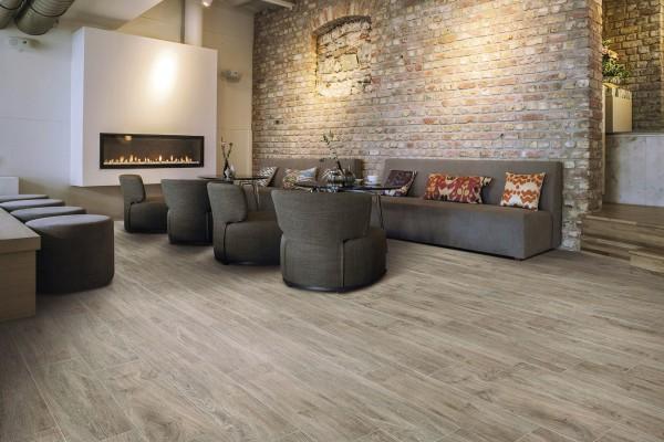 Wood effect floor tiles tortora es 1003 20x80 for Parquet carrelage imitation parquet