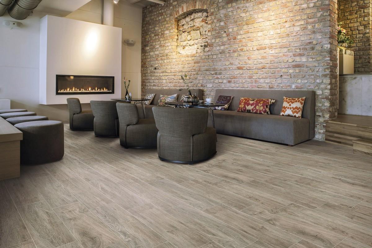 Wood Effect Floor Tiles Tortora Glazed Porcelain Tiles