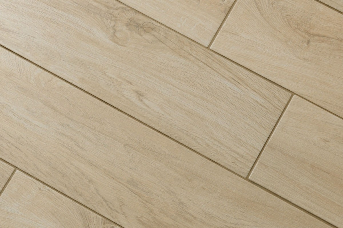 Gres Porcellanato Color Miele.Wood Effect Floor Tiles Miele Es 1002 20x80