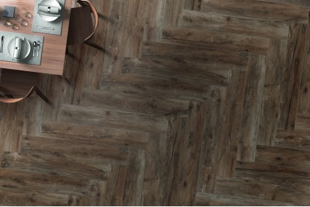 Carrelage imitation parquet nut