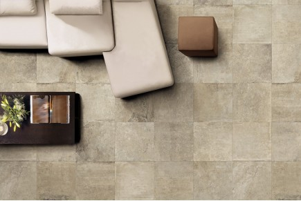 Gres effetto pietra Taupe