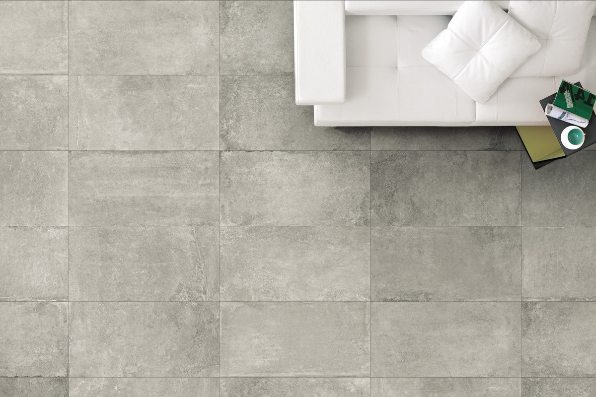 Stone Effect Tiles Grey