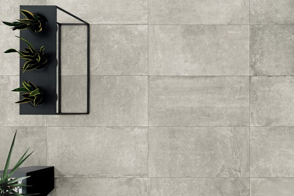 Gres effetto pietra grigio arc 5001 60x120 for Piastrelle bagno 60x120