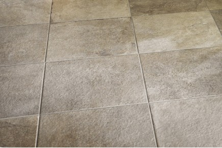 Stone effect tiles - Taupe