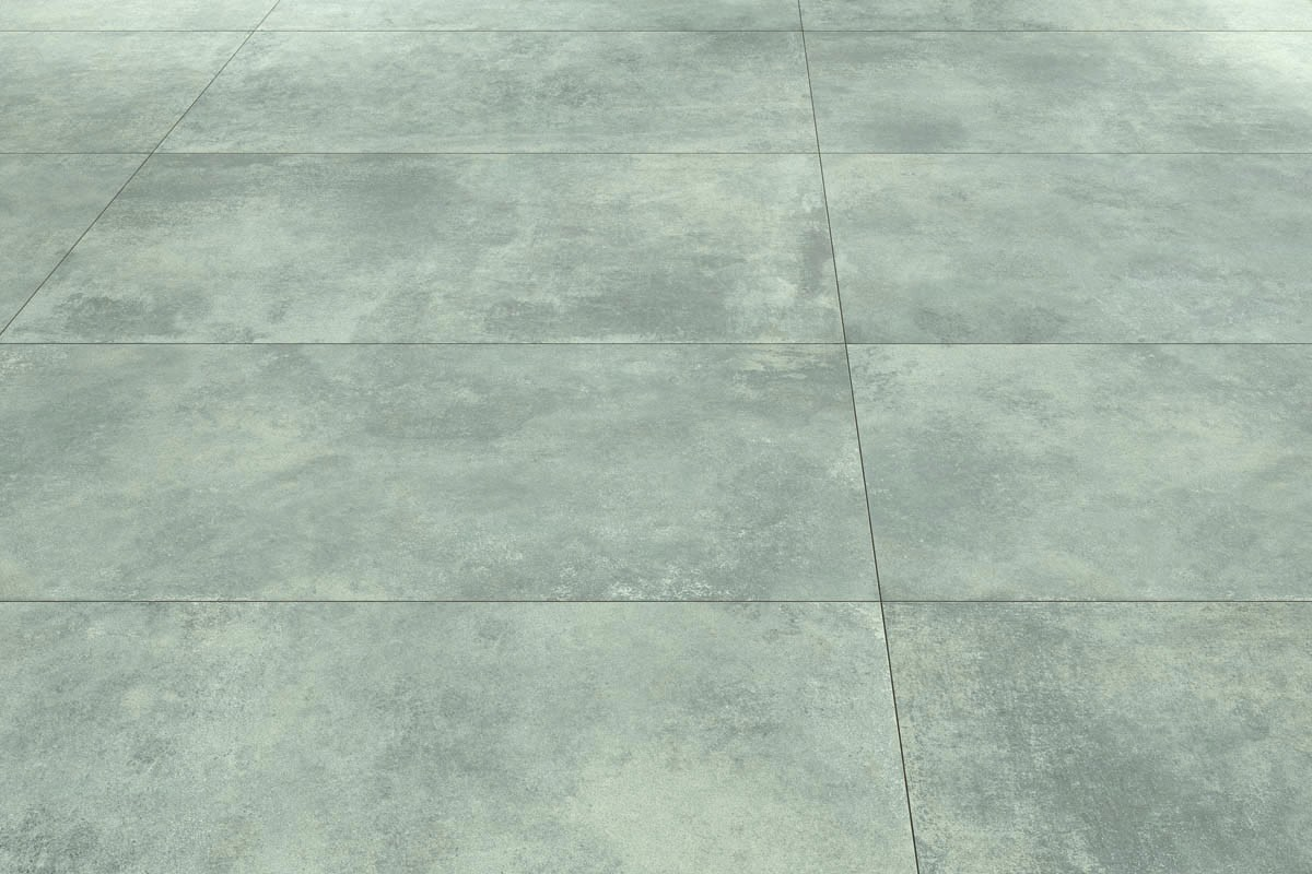 Concrete effect floor tiles spray - ItalianGres