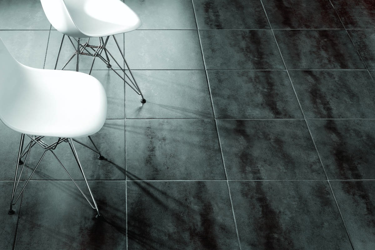 gr s effet ciment noir italiangres. Black Bedroom Furniture Sets. Home Design Ideas