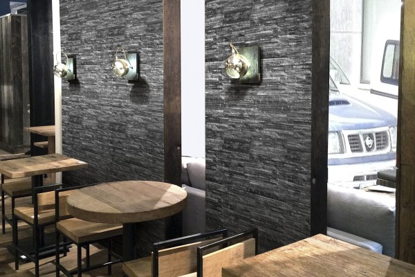 Porcelain stoneware - Dark Grey