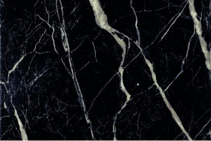 Marmor-Effekt Fliesen - Schwarz