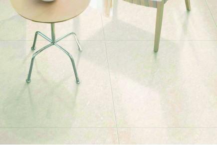 Marmor-Effekt Fliesen - Elfenbeinfarbe