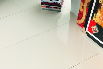 Marble effect tiles - Extra White